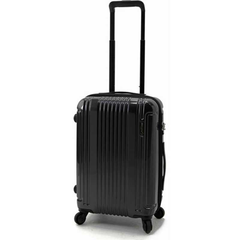 【ポイント10倍 クーポン配布中】 BERMAS CONNECT バーマス コネクト スーツケース ハードキャリー フレームタイプ 4輪 48cm 34L ブラック 60280-BK