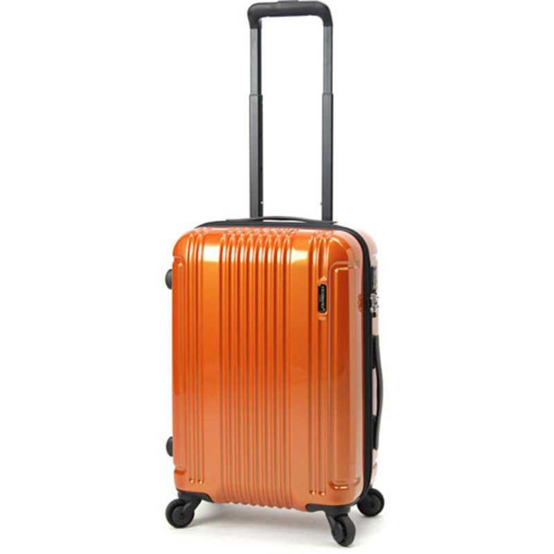 【ポイント10倍 クーポン配布中】 BERMAS CONNECT バーマス コネクト スーツケース ハードキャリー フレームタイプ 4輪 48cm 34L オレンジ 60280-OR