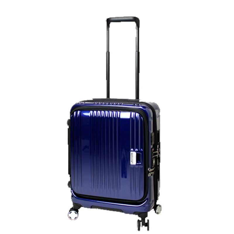 【ポイント10倍 クーポン配布中】 BERMAS EURO CITY ユーロシティ 4輪 フロントオープン スーツケース ハードキャリー ファスナータイプ 38L 機内持込 TSAロック付 コン 6029060