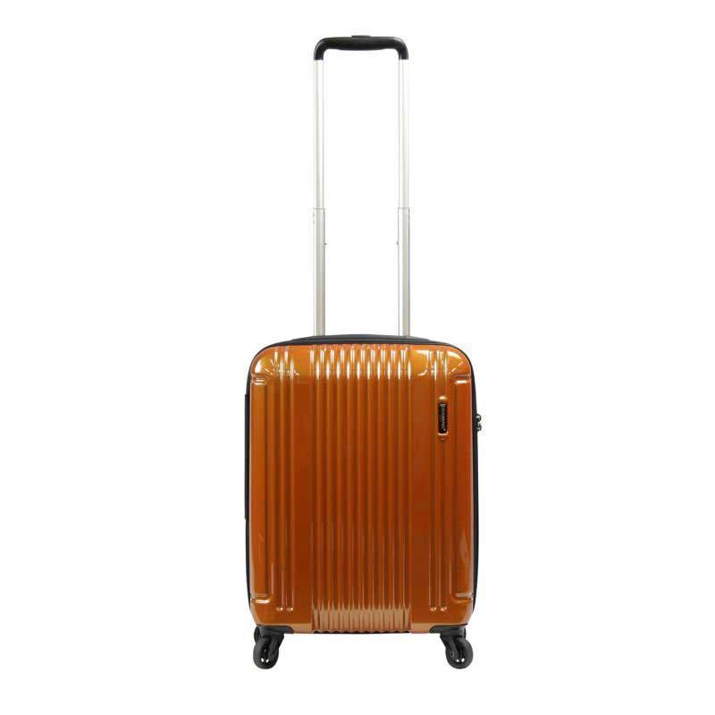【ポイント10倍 クーポン配布中】 BERMAS EURO CITY LITE ユーロシティ ライト 4輪 スーツケース ハードキャリー ファスナータイプ 47L 機内持込 TSAロック付 オレンジ 6029234