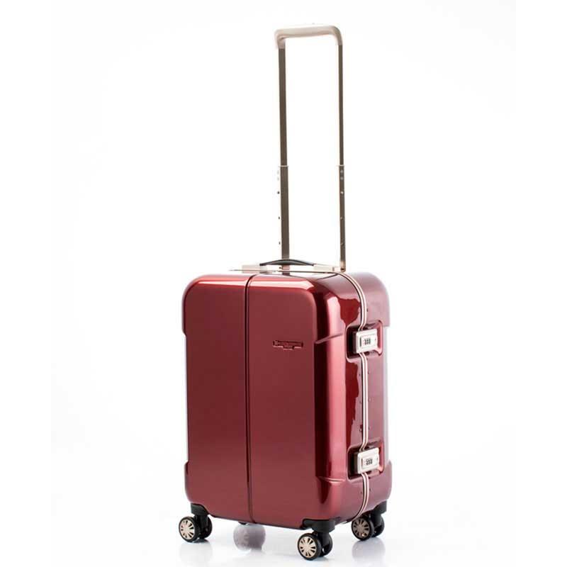 【全商品ポイント10倍】 HIDEO WAKAMATSU ヒデオワカマツ ナローII 超軽量 スーツケース S ハードキャリー TSA 機内持ち込み 36L ワイン 85-76360-WN