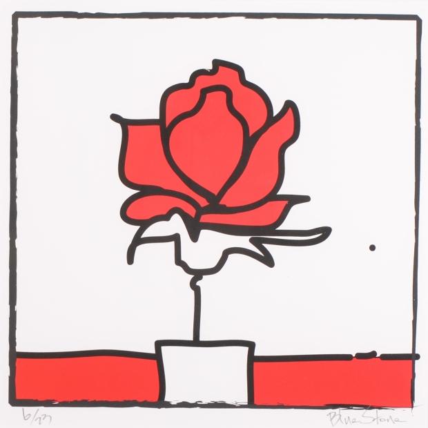 【作家名】ブルー・ストーン【作品名】POP薔薇2・スクエアL・レッド