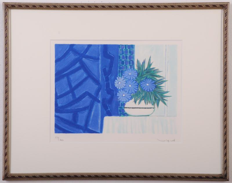 【作家名】アンドレ・ヴィギュド【作品名】青い基調の青い花々