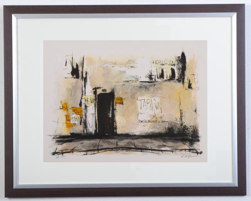 中野克彦さんがジークレーの版画に手彩を加えて制作した絵 街角 2 は 作家名 パリの裏通りの古い壁をモチーフにしたジークレーの版画です 人気の定番 作品名 感謝価格 中野克彦