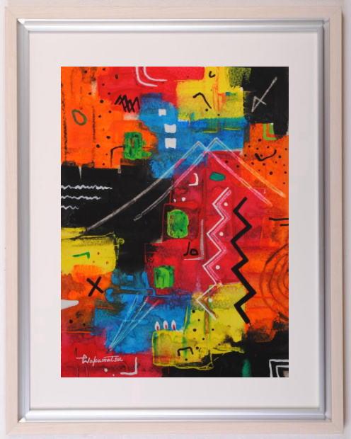 若松愛子さんが水彩画の絵画で描いた抽象画 ポリフォーニーSM-11 は2012年11月に描かれた抽象画の絵画です 作家名 若松愛子 作品名 安心と信頼 ポリフォニーSM-11 トレンド