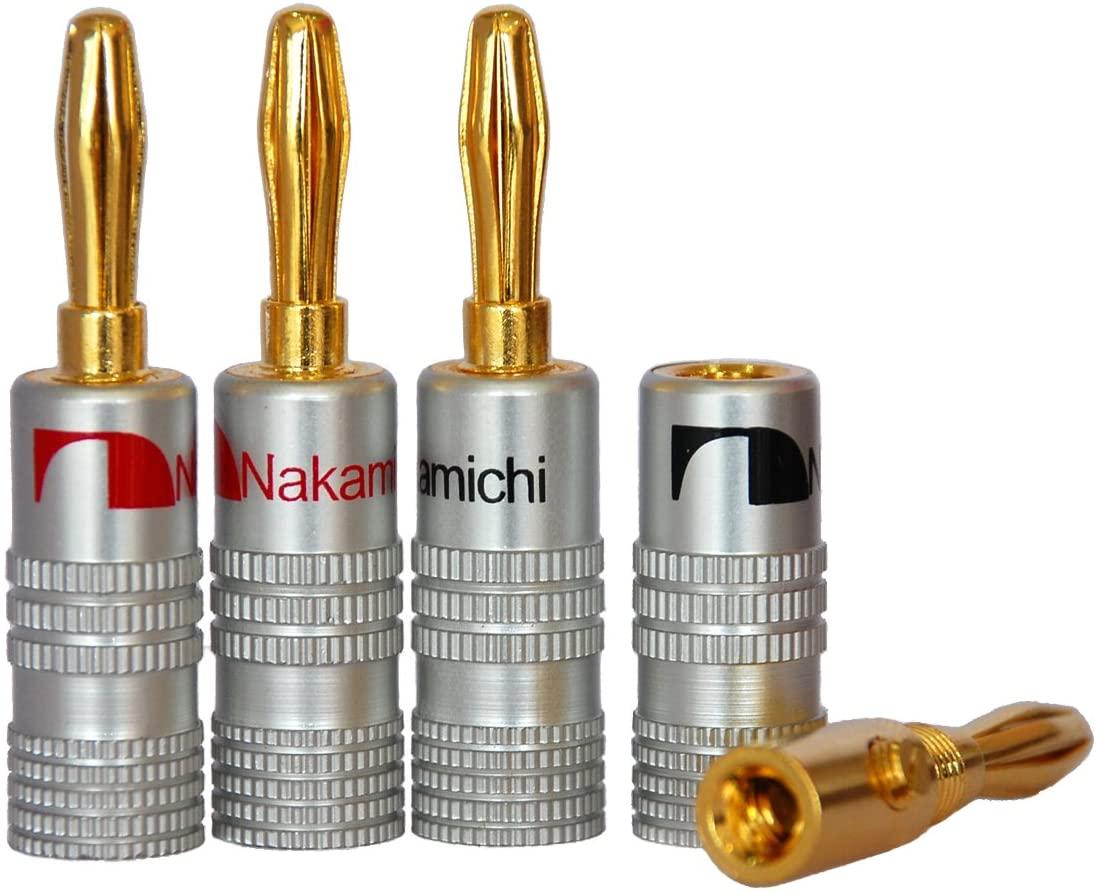 メーカー直送 アンプやオーディオの接続に 使いやすい工具 送料無料 4本セット 期間限定特価品 オーディオ スピーカー 接続 バナナプラグ 工具 使いやすい コネクタ 簡単