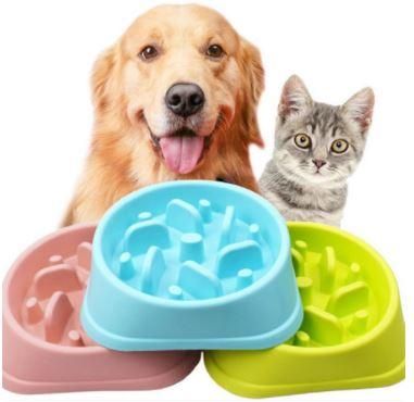 早食い防止 ペット用のフードボウル ペットボウル ペット食器 フードボウル 給餌器 ◆セール特価品◆ ウサギ 犬 NEW売り切れる前に☆ 猫 餌やり