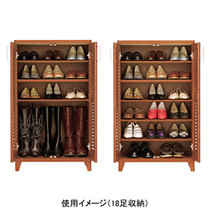 Scandinavian-style louver shoe rack ENB 18 foot storage * manufacturers shipping goods