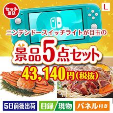 NEW 任天堂 3DSLL 5点セットL、景品、二次会景品、目録、ゴルフコンペ、忘年会、新年会