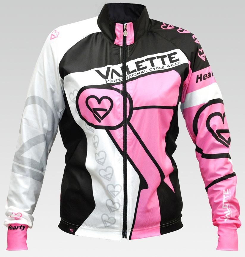 【VALETTE/バレット】HEARTY(ハーティー)レディース 立体ウインドブレーカー【サイクルジャージ/サイクルウェア/自転車/レプリカ/サイクル/ロードバイク/ウェア/ユニフォーム/ランニングウェア/フィットネスウェア】
