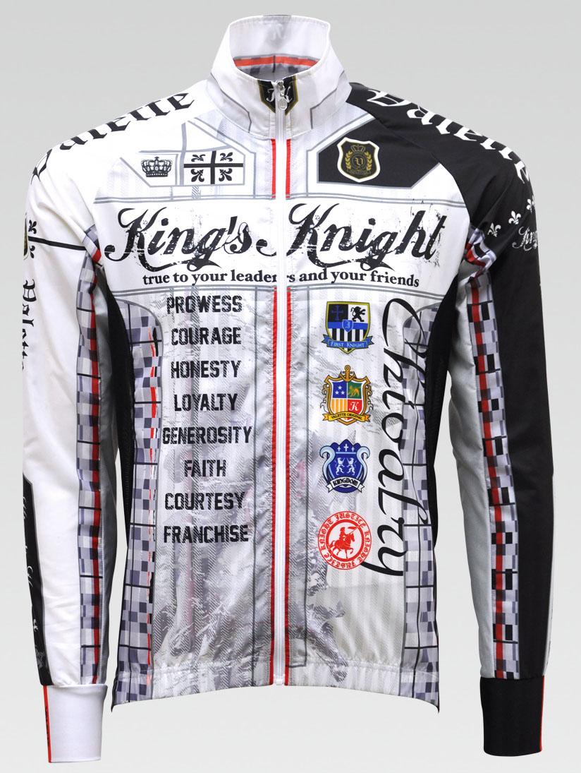 【VALETTE/バレット】KINGS KNIGHT(キングスナイト)立体ウインドブレーカー【サイクルジャージ/サイクルウェア/自転車/レプリカ/サイクル/ロードバイク/ウェア/ユニフォーム/ランニングウェア/フィットネスウェア】