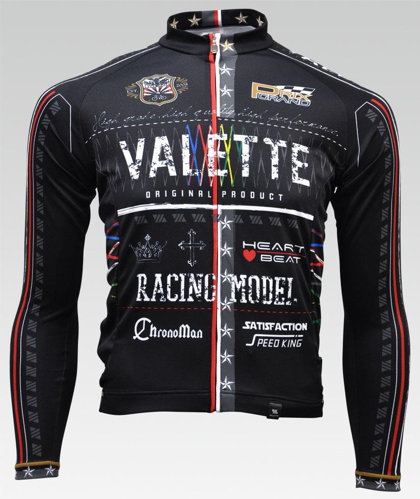 【VALETTE/バレット】BABEL(バベル)長袖ジャージ【サイクルジャージ/サイクルウェア/自転車/レプリカ/サイクル/ロードバイク/ウェア/ユニフォーム/ランニングウェア/フィットネスウェア】