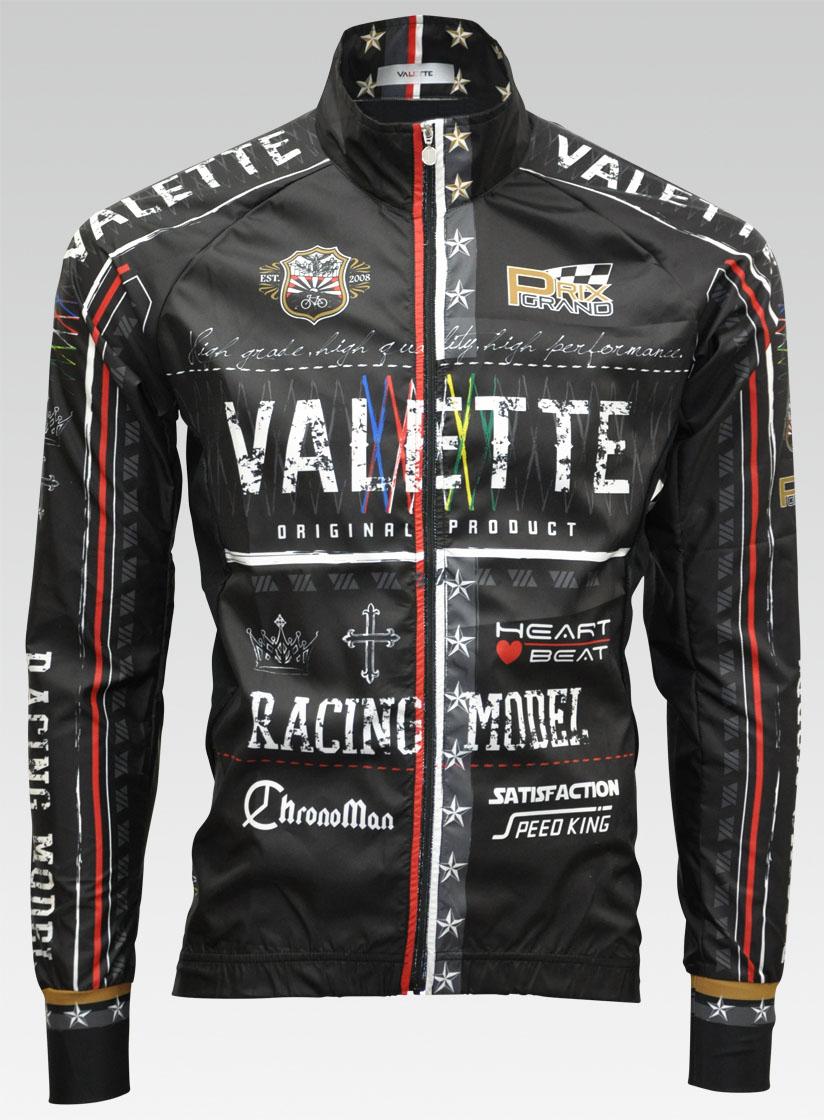 【VALETTE/バレット】BABEL(バベル)立体ウインドブレーカー【サイクルジャージ/サイクルウェア/自転車/レプリカ/サイクル/ロードバイク/ウェア/ユニフォーム/ランニングウェア/フィットネスウェア】