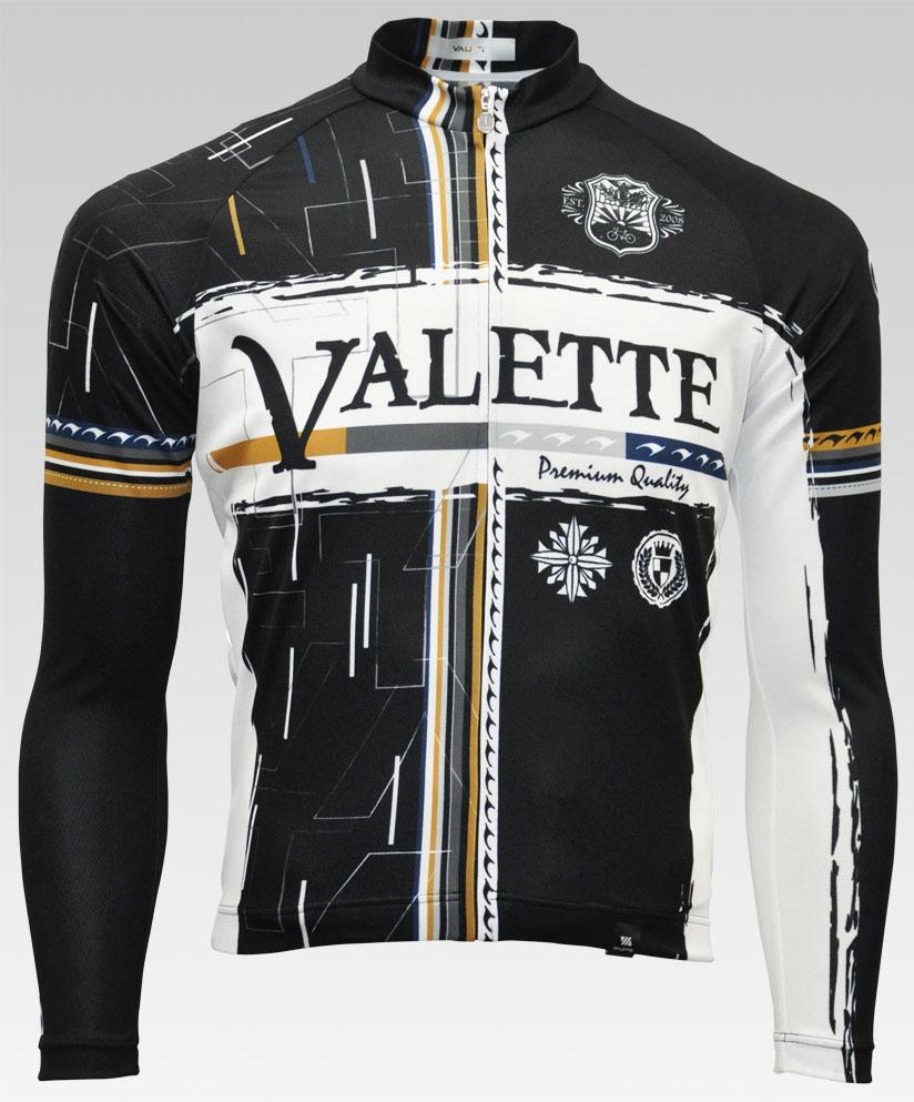【VALETTE/バレット】FALL(フォール)長袖ジャージ【サイクルジャージ/サイクルウェア/自転車/レプリカ/サイクル/ロードバイク/ウェア/ユニフォーム/ランニングウェア/フィットネスウェア】