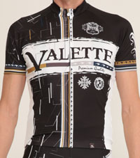 【VALETTE/バレット】FALL(フォール)半袖【サイクルジャージ/サイクルウェア/自転車/レプリカ/サイクル/ロードバイク/ウェア/ユニフォーム/ランニングウェア/フィットネスウェア】