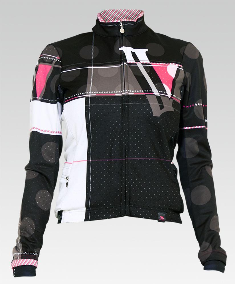 【VALETTE/バレット】RASPBERRY(ラズベリー)レディース立体ウインタージャケット【サイクルジャージ/サイクルウェア/自転車/レプリカ/サイクル/ロードバイク/ウェア/ユニフォーム/ランニングウェア/フィットネスウェア】