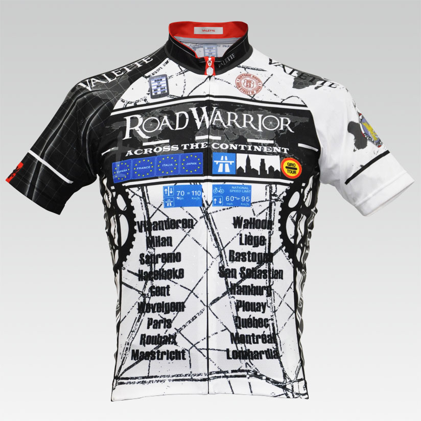【VALETTE/バレット】ROAD WARRIOR(ロードウォーリア)半袖【サイクルジャージ/サイクルウェア/自転車/レプリカ/サイクル/ロードバイク/ウェア/ユニフォーム/ランニングウェア/フィットネスウェア】
