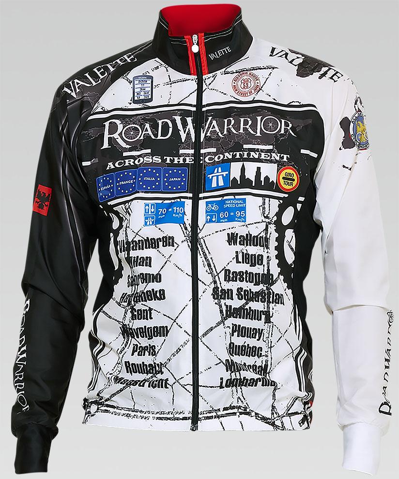 【VALETTE/バレット】ROAD WARRIOR(ロードウォーリア)立体ウインドブレーカー【サイクルジャージ/サイクルウェア/自転車/レプリカ/サイクル/ロードバイク/ウェア/ユニフォーム/ランニングウェア/フィットネスウェア】