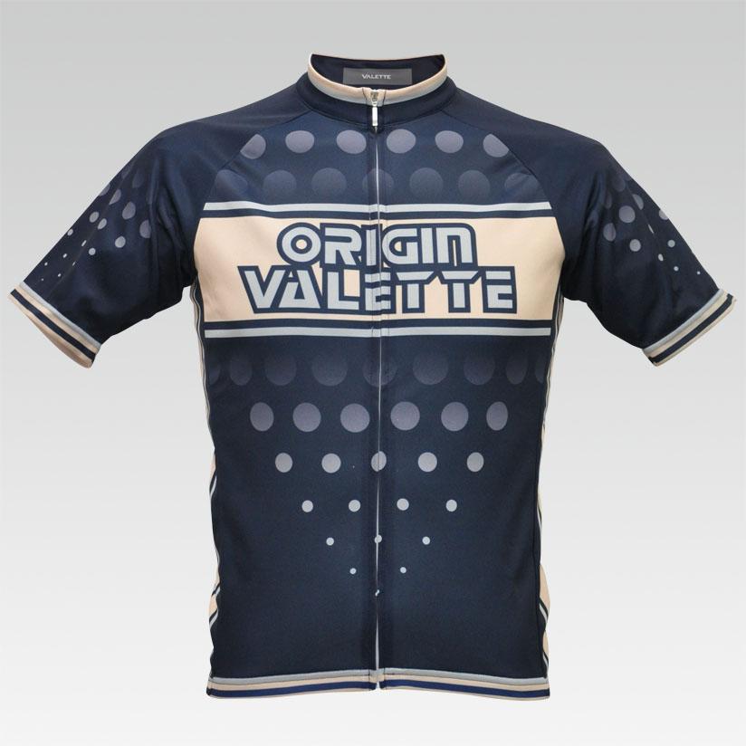 【VALETTE/バレット】ORIGIN(オリジン) 半袖 VALETTE A-LINE【サイクルジャージ/サイクルウェア/自転車/レプリカ/サイクル/ロードバイク/ウェア/ユニフォーム/ランニングウェア/フィットネスウェア】