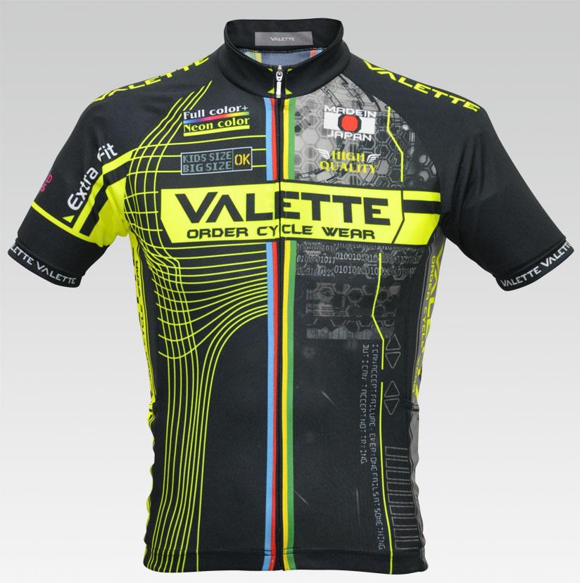 【VALETTE/バレット】Shining( シャイニング) 半袖 VALETTE A-LINE【サイクルジャージ/サイクルウェア/自転車/レプリカ/サイクル/ロードバイク/ウェア/ユニフォーム/ランニングウェア/フィットネスウェア】