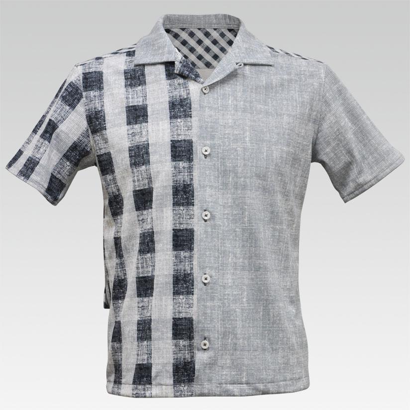 【VALETTE/バレット】Grunge Check(グランジチェック)オープンシャツ【シャツ/サイクルウェア/自転車/レプリカ/サイクル/ロードバイク/ウェア/カジュアル】