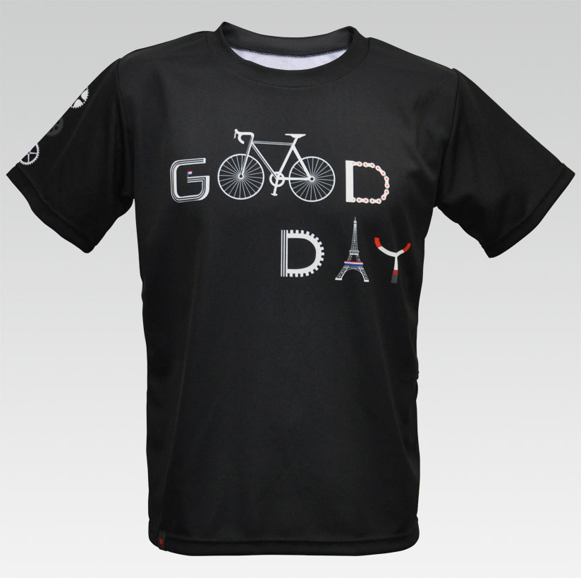 【VALETTE/バレット】good day(グッデイ) ポケT【サイクルジャージ/サイクルウェア/自転車/Tシャツ/レプリカ/サイクル/ロードバイク/ウェア/ユニフォーム/ランニングウェア/フィットネスウェア/フットサルウェア/ゴルフウェア】