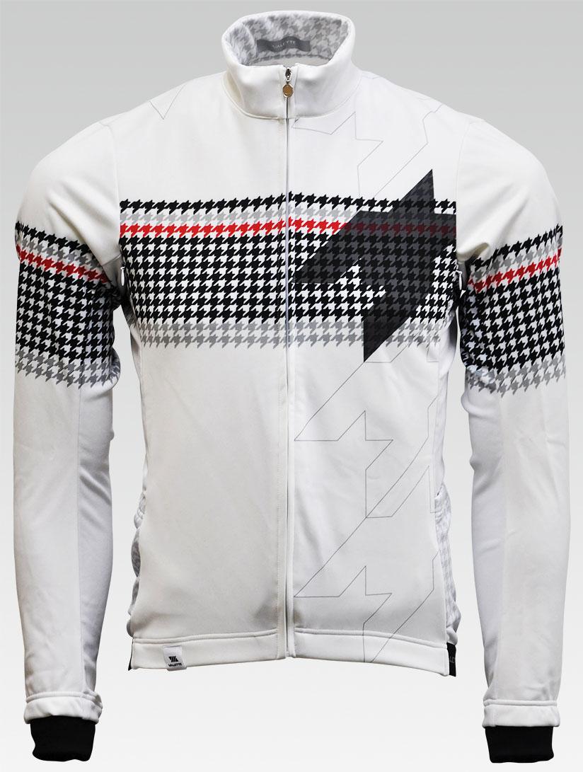 【VALETTE/バレット】Pied de poule(ピエドプール)立体ウインタージャケット【サイクルジャージ/サイクルウェア/自転車/レプリカ/サイクル/ロードバイク/ウェア/ユニフォーム/ランニングウェア/フィットネスウェア】