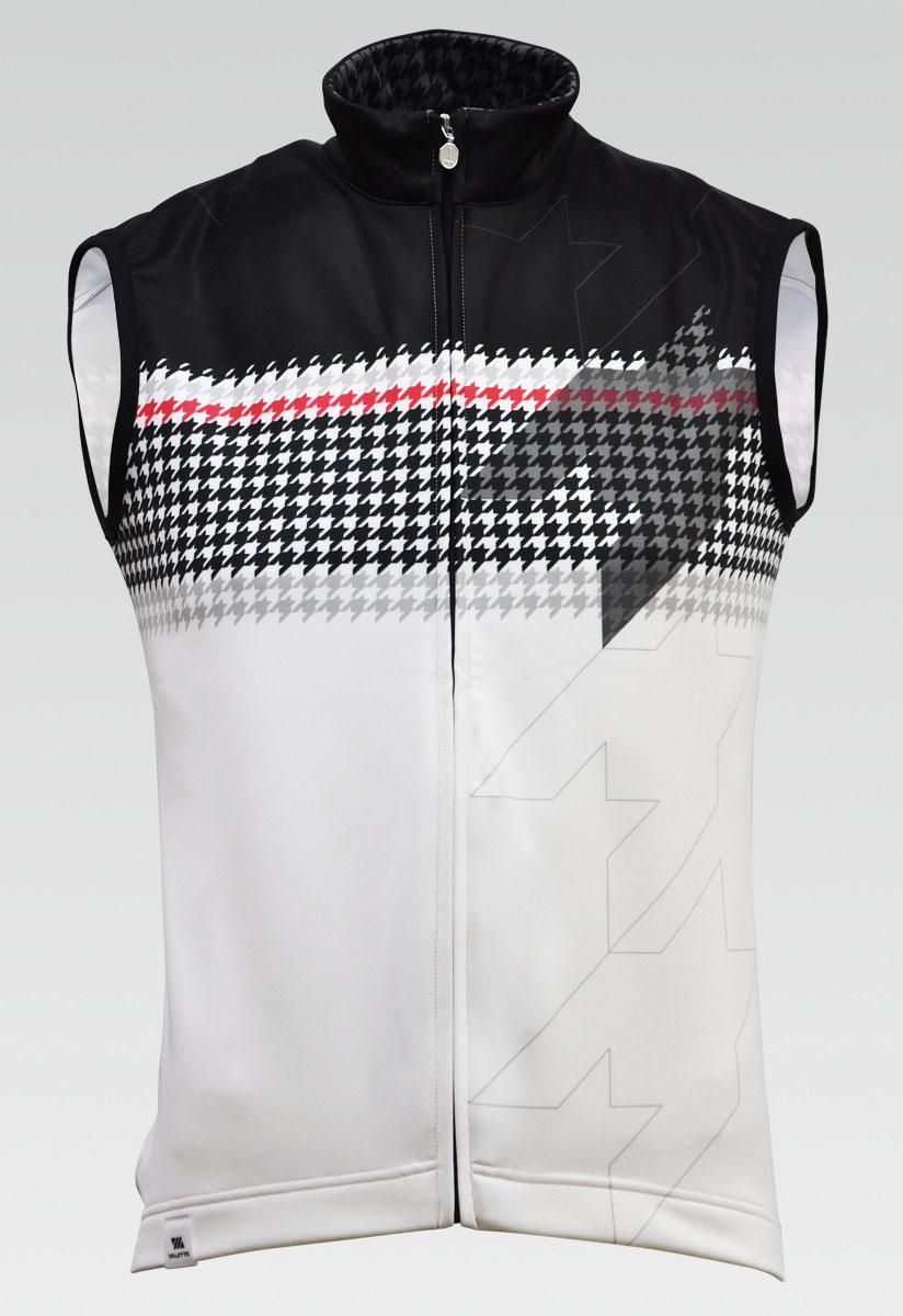 【VALETTE/バレット】Pied de poule(ピエドプール) 立体サーモベスト【サイクルジャージ/サイクルウェア/自転車/レプリカ/サイクル/ロードバイク/ウェア/ユニフォーム/ランニングウェア/フィットネスウェア】
