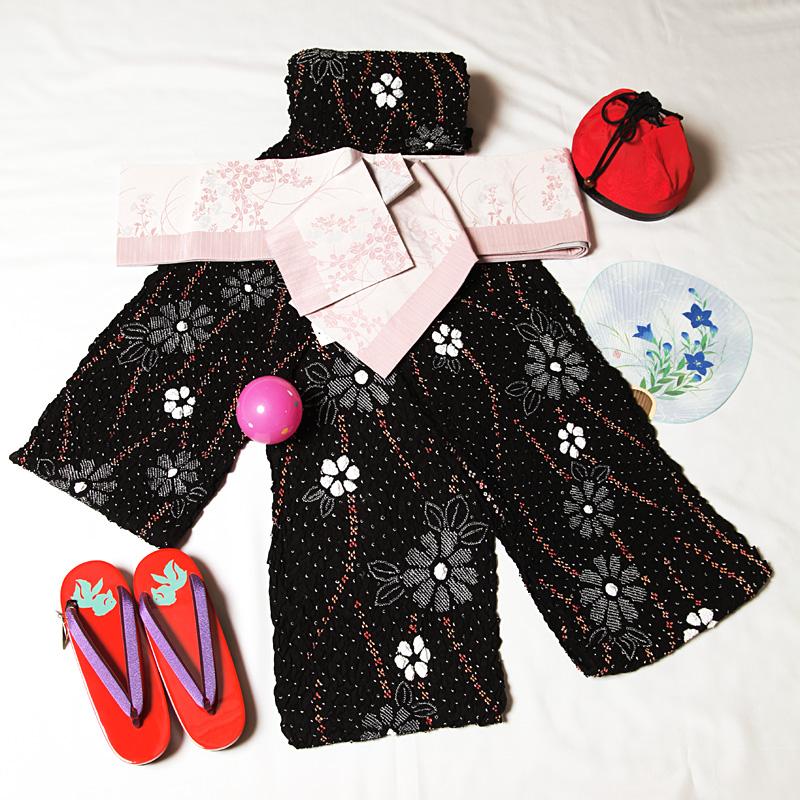 有松絞りゆかた 浴衣セットで販売 小花流優心絞り浴衣