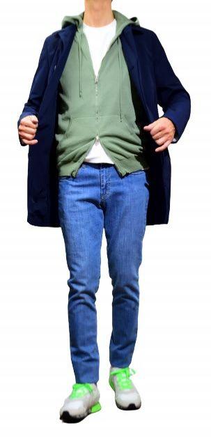 コート メンズ 2020春夏新作 春夏 おしゃれ ビジネス 紺色 コットン NEW ARRIVAL バルバッティ バルカラーコート Barbati フード付き ネイビー SALE50 綿