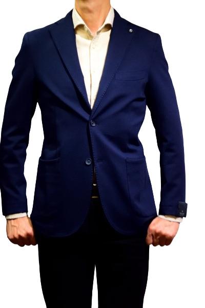 メンズジャケット ジャージ素材 20FW新作 国内正規品 あす楽対応 領収書発行 送料無料 バルバッティ セットになるアイテムがあります 春の新作 ネイビー ジャケットメンズ 商品番号10003204 ジャージ お得クーポン発行中 2B Barbati