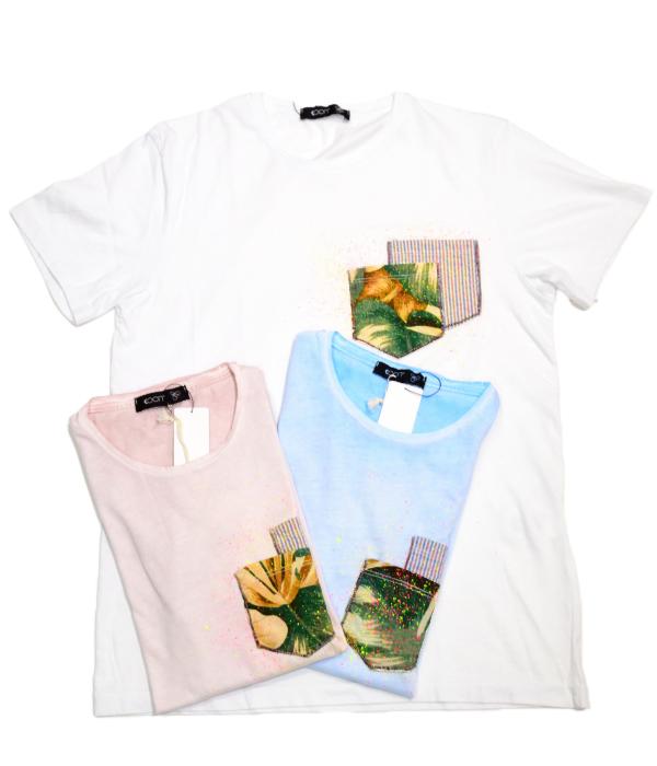 SS新作 国内正規品 返品交換不可 クーン KOON NEW ARRIVAL Tシャツ 910101384123 ピンク 綿 白 WHITE 超美品再入荷品質至上 サックス 無地 1