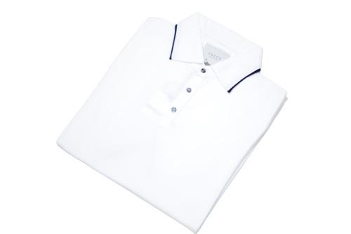 ポロシャツ メンズ 春夏 数量限定アウトレット最安価格 オシャレ ビジネス ポロネック SALE VNECK あす楽 ホワイト ヴイネック 感謝価格