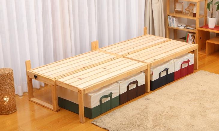 楽天市場】ベンチタイプ ソファ−ベッド:中居木工