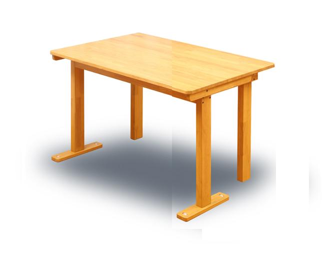 国産 中居木工 折りたたみ 木製 ダイニングテーブル 80×120×高70