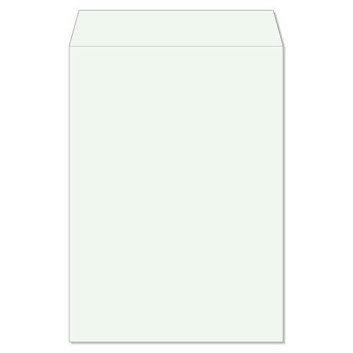 封筒 クラフトカラー封筒 角2 スチック ミズ 85g ヨコ貼 枠なし 500枚 kd2235