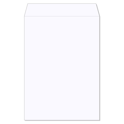 封筒 白封筒 角2 森林認証 透けないコーティング ケント 100g ヨコ貼 枠なし 500枚 kx0299