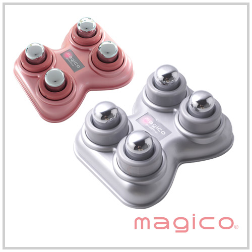 magico快癒器(4球式)[magico,痊愈器,按摩器,指压代用器,穴,并且按,罐子,并且,吸取教训,并且是,僵硬,肩膀僵硬,肩膀痛,腰痛,中山式痊愈器]