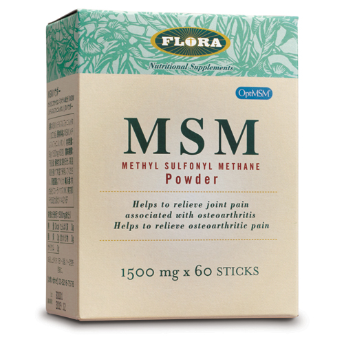 MSMパウダー 1500mg×60包 ( FLORAフローラ )msm サプリメント
