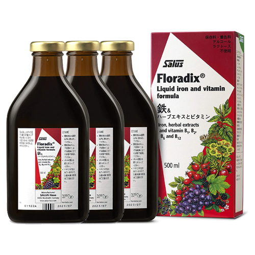 フローラディクス(Floradix) 500ml×3本セット(送料無料)(クーポン利用可)