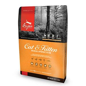 CAT & KITTEN オリジン キャット&キトゥン キャットフード 1.8kg【2袋セット】