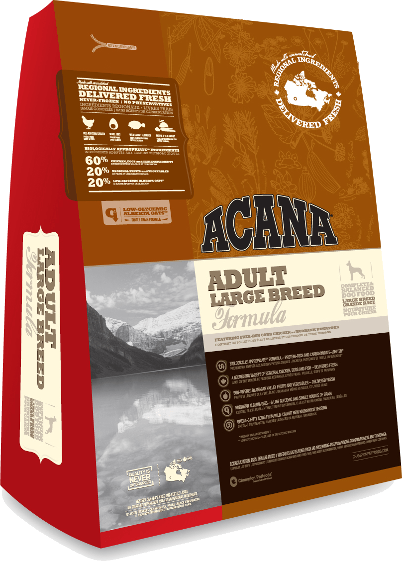 アカナ アダルト・ラージ・ブリード 11.4kg ACANA 【犬用/ドッグフード/ドライフード/小型犬/中型犬/大型犬/成犬】 【送料無料】