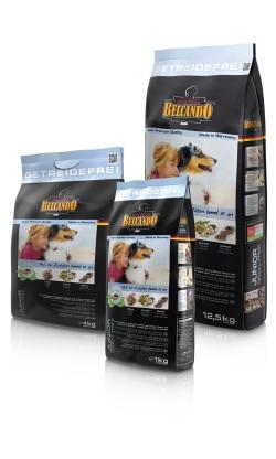 ベルカンド ジュニア グレインフリー 12.5kg (穀物類に敏感な生後4ヶ月からの中型・大型成長犬用) BELCANDO 【犬用/ドッグフード/ドライフード/中型犬/大型犬/子犬】 【送料無料】