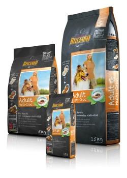 ベルカンド アダルト マルチクロック 15kg (通常活動成犬用) BELCANDO 【犬用/ドッグフード/ドライフード/小型犬/中型犬/大型犬/成犬】 【送料無料】