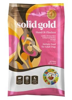ソリッドゴールド フントフラッケン (老犬、成犬用) 12.9kg SOLID GOLD 【犬用/ドッグフード/ドライフード/小型犬/中型犬/大型犬/成犬/高齢犬】 【送料無料】