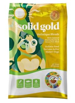 ソリッドゴールド ホリスティックブレンド (老犬・成犬用) 12.9kg SOLID GOLD 【犬用/ドッグフード/ドライフード/小型犬/中型犬/大型犬/成犬/高齢犬】 【送料無料】