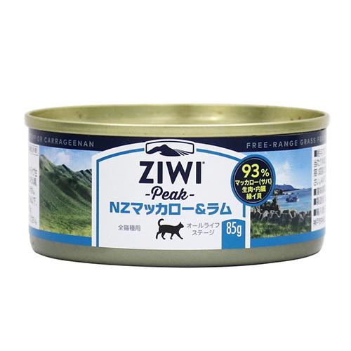 ジウィピークキャット缶 NZマッカロー&ラム 85g×24缶セット