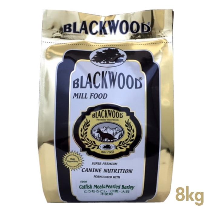 ブラックウッド ミルフード 5000 8kg (2kg×4) BLACKWOOD 【犬用/ドッグフード/ドライフード/小型犬/中型犬/大型犬/子犬/成犬/高齢犬】 【送料無料/あす楽】