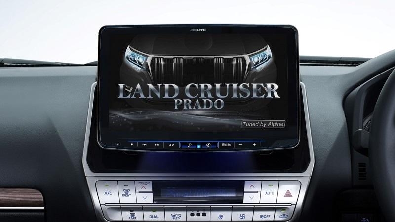 ランドクルーザープラド 150系 毎日がバーゲンセール マイナーチェンジ後専用 アルパイン ALPINE カーナビ マイナーチェンジ後 国産品 2021年モデル フローティングビッグX11 取り付けキット付き 11インチ
