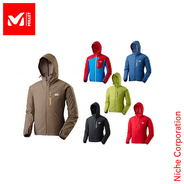 • 30% off • millet bona se EG stretch jacket: MIV 01081 Men's [MILLET millet men's Hoodie rainwear Windbreakers]
